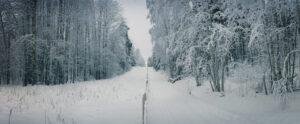 Lite för nära den ryska gränsen.